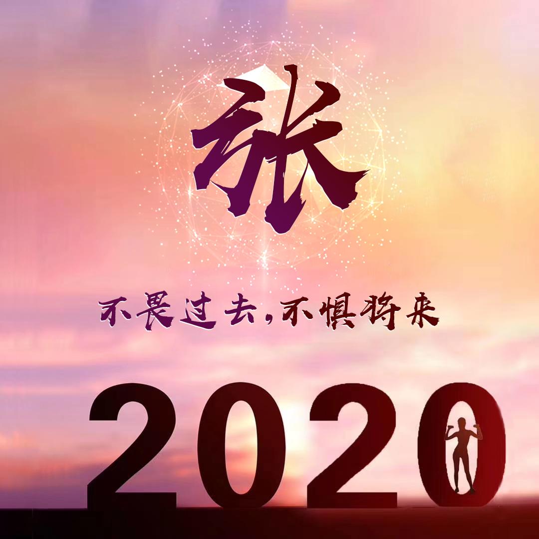 微信头像,百家姓氏微信头像,名字壁纸 2020鼠年吉祥喜庆汇总 编号1666