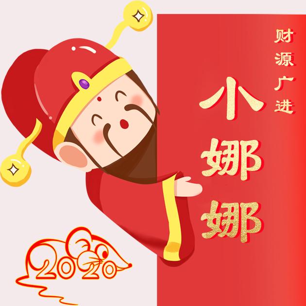 微信头像,百家姓氏微信头像,名字壁纸 2020鼠年吉祥喜庆汇总 编号1671